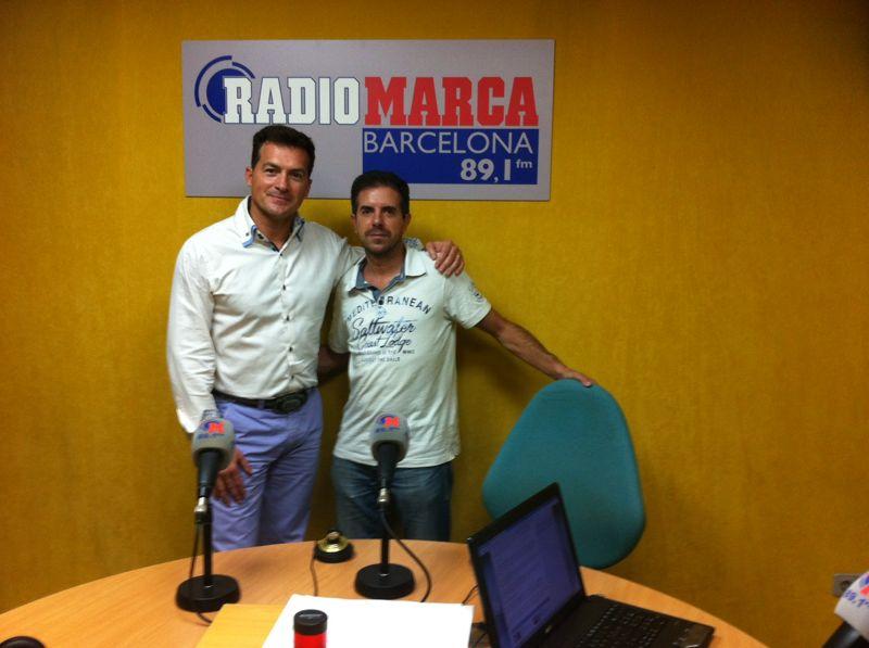 En Radio Marca Barcelona con Ricard Vicente