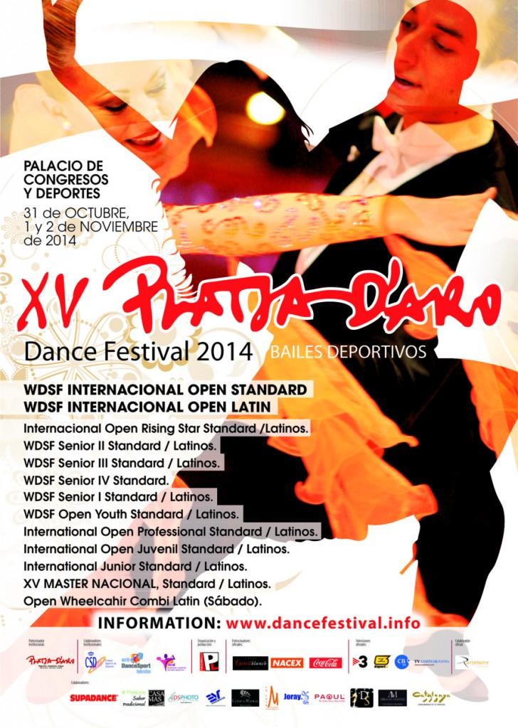 Poster Dance Festival Platja d'Aro 2014