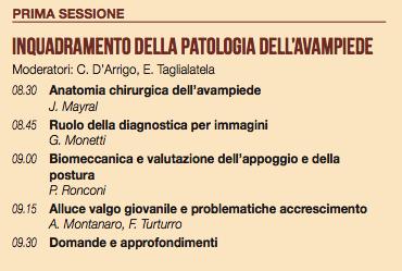 Moderadores:: C. D'Arrigo, E. Taglialatela